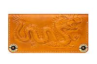 Кожаный кошелек в восточном стиле