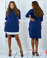 Красивое платье-рубашка в расцветках БАТ 810 (501)
