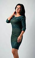 Модное молодежное платье  Гипюр-2
