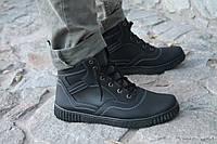 Бесплатная доставка! Зимние мужские ботинки, мужская обувь 40,41 размер.