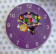 Оригинальные настенные часы с логотипом английского клуба