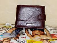 Мужской кошелек из натуральной кожи ( отделение под документы)