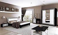 Спальня Виола / Viola MiroMark черный / белый глянец