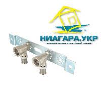 """Монтажная планка с пресс-водорозетками VALTEC VTm.224.N. 16 мм х 1/2"""""""
