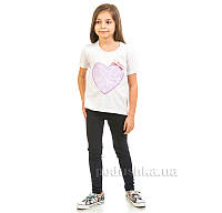 Спортивные лосины Kids Couture темно-синие 32 (Р-110, ОГ-59, ОТ-53,5)