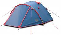 Палатка трехместная двухслойная Camp 3 (Sol SLT-007.06)