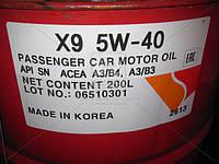 Масло моторное ZIC X9 5W-40 (Бочка 200л) 202613