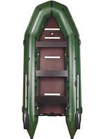 Лодка надувная моторная килевая восьмиместная Bark BT-420S (БАРК BT-420S)