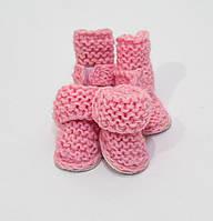 Угги шерстяные VipDoggy  размер 00 розовые