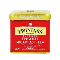 Чай черный листовой жб Twinings Английский завтрак 100г