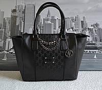 Модная женская сумка Guess Черная