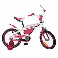 Детский 2-х колесный велосипед Profi Vip 16 розовый
