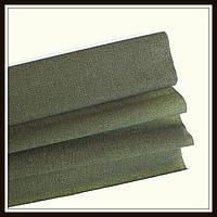 Гофрированная бумага серо-зеленая  (50*250 см)