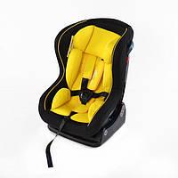 Детское автокресло универсальное от 0 до 18 кг Corvety желтый