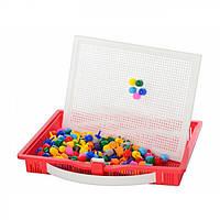Развивающая игра мозаика в лоточке-чемодане