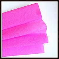 Гофрированная бумага ярко-розовая (50*250 см)