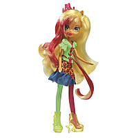 Кукла Май Литтл Пони Эппл Джек Эквестрия  My Little Pony Equestria Girls Apple Jack Rainbow Rocks