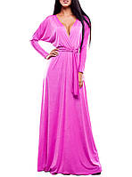 """Вечернее платье в пол """"Розовая Изысканность"""""""