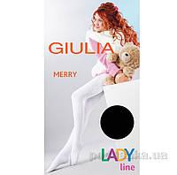 Колготки черные зимние для девочки 250 den Merry Giulia Nero 128-134