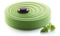 Силиконовая форма для десертов Silikomart   R 200mm.h=45mm  Vague (Италия) (05262)