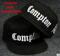 Мужская стильная кепка, бейсболка, реперка с прямым козырьком, хип хоп Compton
