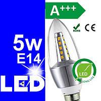 LED лампочки (лампы) светодиодные энергосберегающие 5w Е14