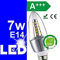 LED лампочки (лампы) светодиодные энергосберегающие 7w Е14