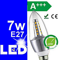 LED лампочки (лампы) светодиодные энергосберегающие 7w Е27