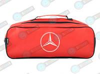 Автомобильная сумка в багажник Mercedes Красная
