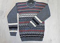 Вязаный свитер для мальчика 5,6,7 лет