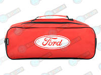 Сумка для автомобиля в багажник Ford Краснаяя