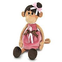 Мягкая игрушка «Orange» (OS105/40) обезьянка Мила в платье с причёской, 60 см