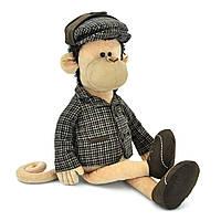 Мягкая игрушка «Orange» (5007/35SK) обезьянка Шерлок в пиджаке, кепке и туфлях, 55 см