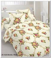 Качественное постельное белье, бязь, цветы двуспальное