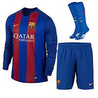 Футбольная форма  с длинным рукавом Nike FC Barcelona  2016-17