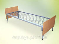 Кровать одноярусная с быльцами ОДСП