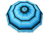Полуавтоматический зонт в холодных тонах