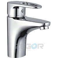 Cмеситель Zegor Z15-BKE для умывальника однорычажный ванный кран