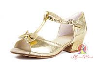 """Туфли для танцев детские """"Бант"""" 734-62"""
