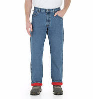 Зимние джинсы Wrangler Thermal Jean - Stonewashed