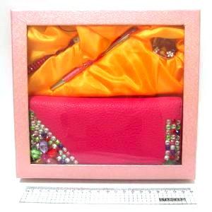 """Набор подарочный """"Splendid"""" ручка и брелок, кошелёк, ремешок"""