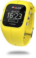 Годинник-пульсометр Polar A300 + HR yellow
