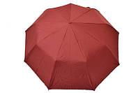 Женский зонт вишневого цвета