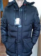 Классический пуховик RLX POLO Ralf Lauren. Мужская черная куртка. Зимняя одежда. Теплая одежда. Код: КБН149