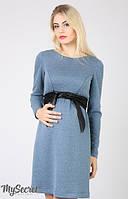 Платье для беременных и кормящих мам Orbi  2-в-1 синее