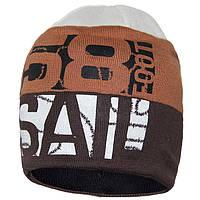 Демисезонная шапка для мальчиков