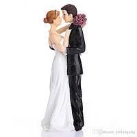 """Фигурка для свадебного торта """"жених и невеста"""" 1011, красивые и оригинальные свадебные фигурки"""