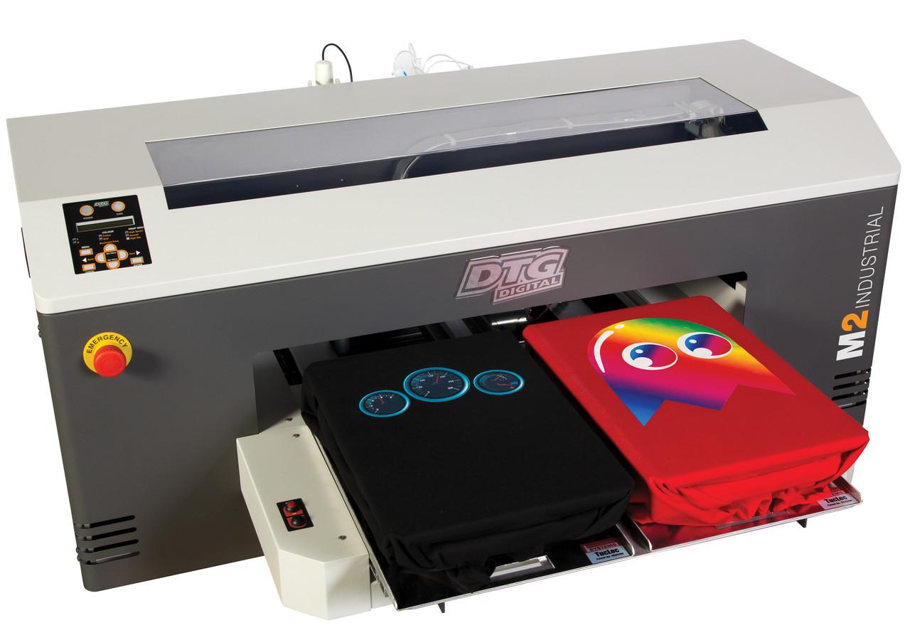 Машина для печатания рисунков на футболке
