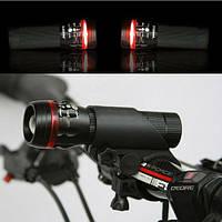 Led, светодиодный фонарь, фонарик для велосипеда (велофонарь), фото 1