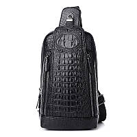 Рюкзак молодежный из PU кожи под кожу крокодила